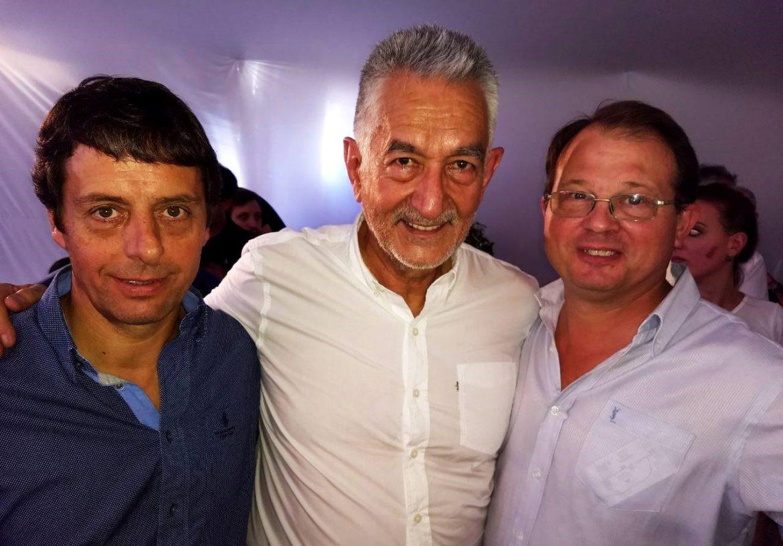 """Sola y Rauschenberger, con fotos con """"El Alberto"""" y Kicillof"""
