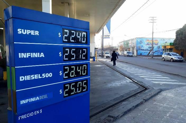 Desde hoy en La Pampa, los combustibles un peso más caros