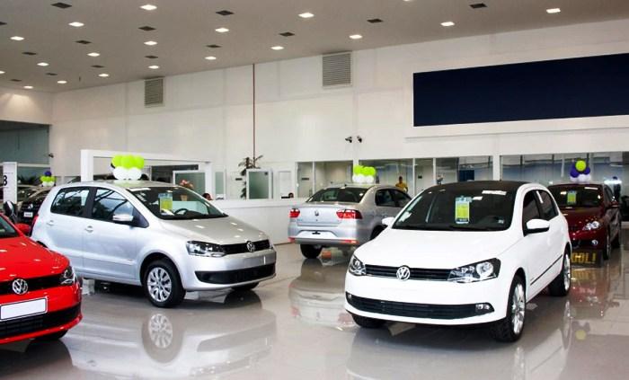 Fuerte caída en el patentamiento de autos