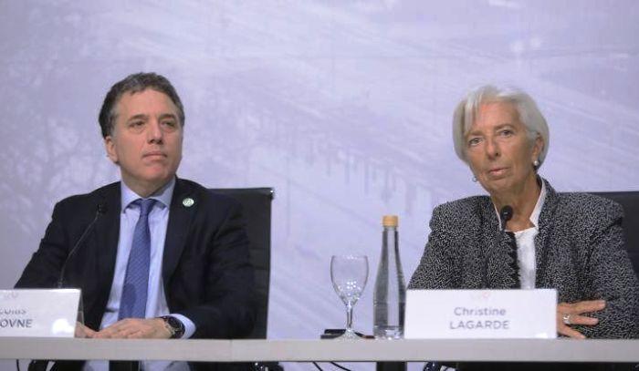 Dujovne anuncia mañana junto a Lagarde el nuevo acuerdo con el FMI