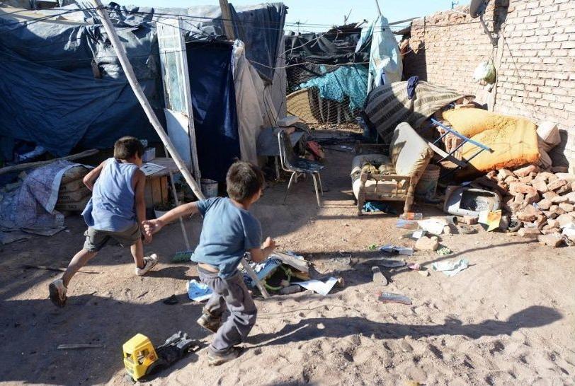 Alarmante: el 41,2% de niños y niñas vive bajo pobreza estructural en Argentina