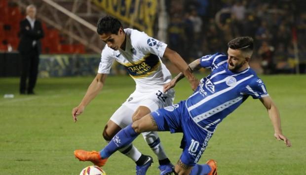 Boca, con el pampeano Capaldo de titular, venció a Godoy Cruz