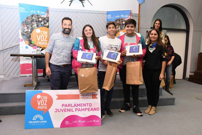 Parlamento Juvenil: ganó un proyecto de Victorica sobre donación de órganos