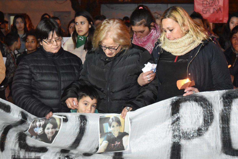 Marcharon en Pico y Santa Rosa por el femicidio de Valeria Coggiola