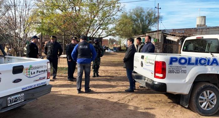 Allanamientos por droga: cuatro detenidos en Trenel y Pico