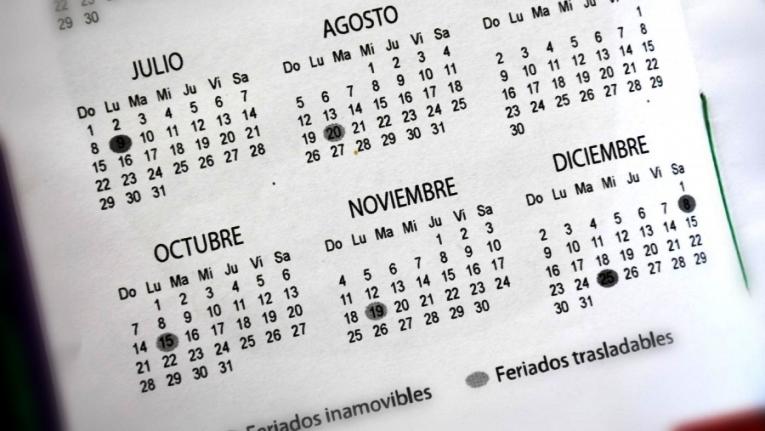 El 8 de julio será día no laborable y el 9 de julio feriado nacional