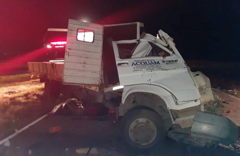 Otro choque fatal: murió un camionero de Quemú