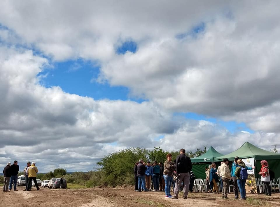 Cultura habilitó el sendero turístico en el Cerro de los Viejos