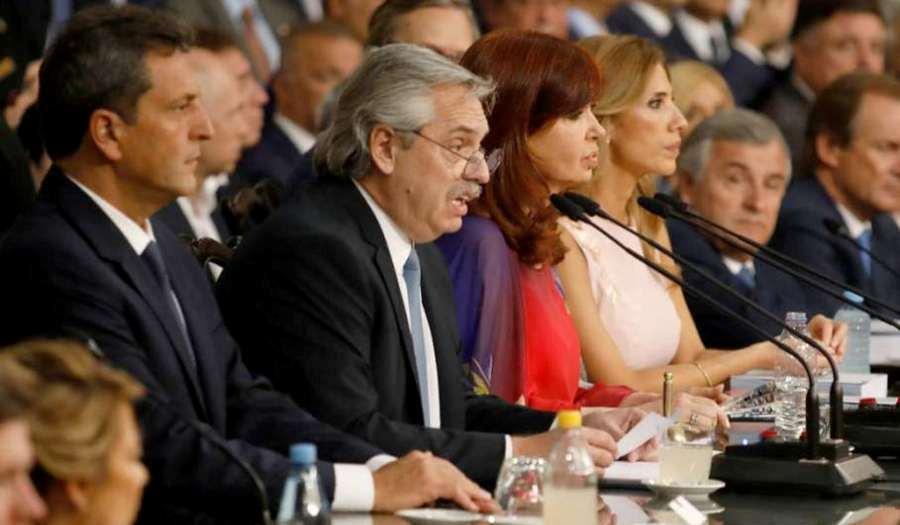 Fernández pidió a los militantes que no se movilicen en la apertura de sesiones