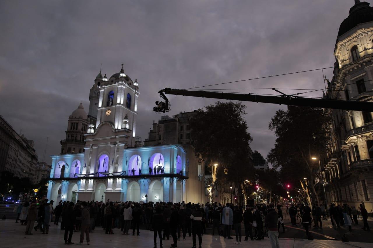 En fotos: rompen la cuarentena en Buenos Aires para protestar por las restricciones