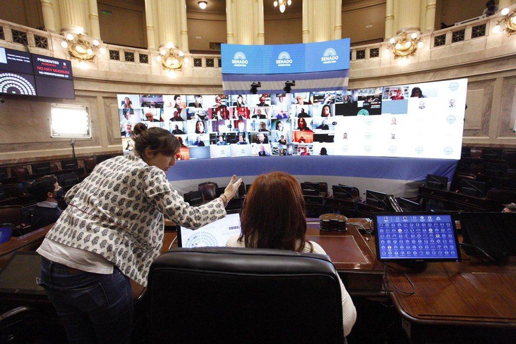 En el Senado y en Diputados se harán las primeras sesiones virtuales de su historia