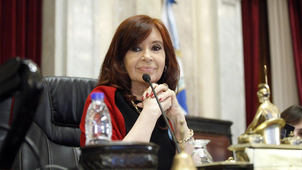 Quedó oficializada la decisión de CFK de no de recibir haberes por su cargo de vicepresidenta