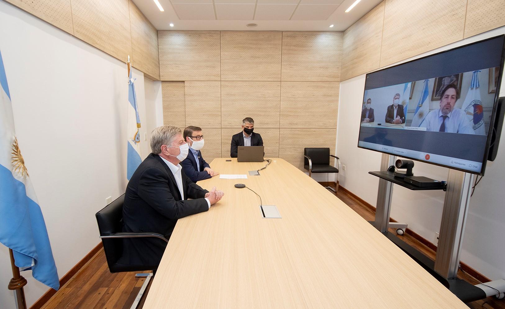Ziliotto participa de encuentro con el presidente para definir la próxima fase del aislamiento