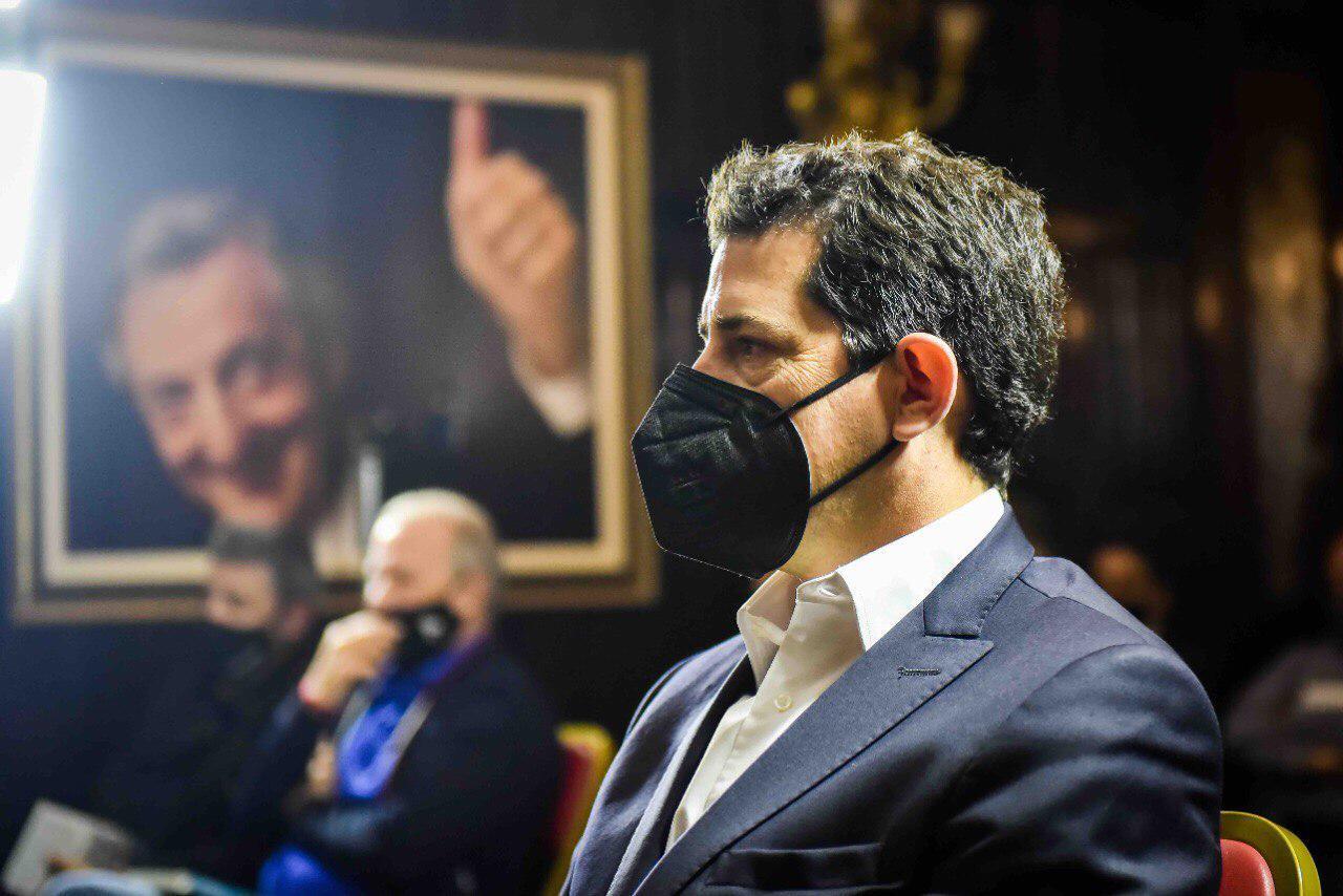 """El ministro """"Wado"""" de Pedro calificó de """"gran iniciativa"""" el plan productivo de Ziliotto"""