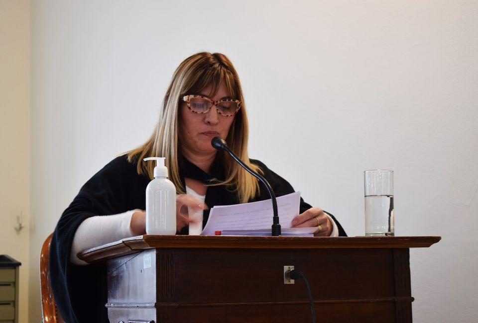 Pasó a comisión el pedido de licencia de la concejala Sueldo