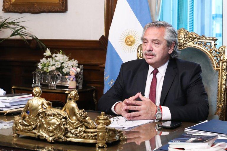 Alberto Fernández envió el proyecto de legalización del aborto al Congreso