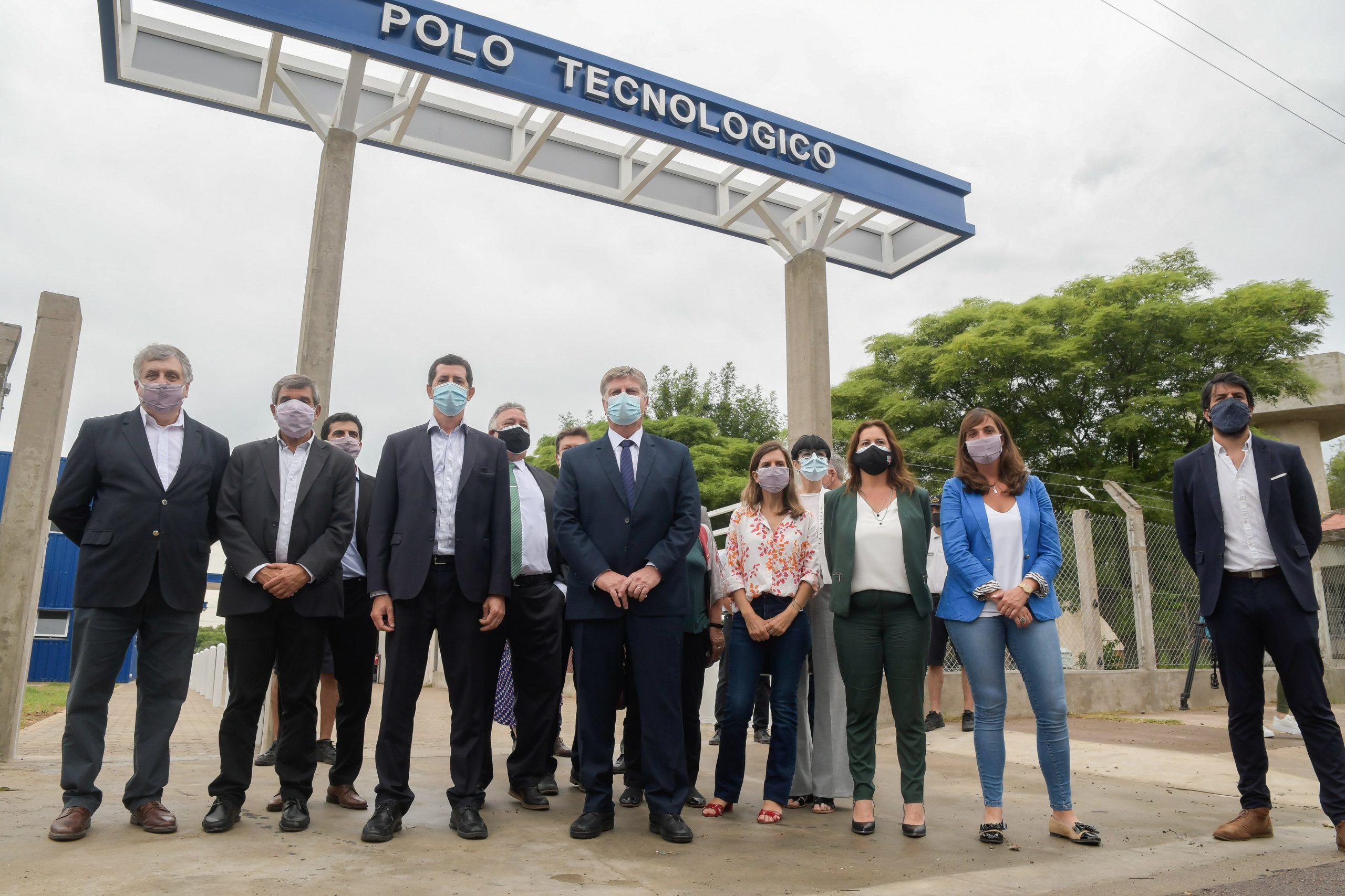 Firmaron convenio por $378 millones para la construcción de la 2° y 3° etapa del Polo Tecnológico de Pico