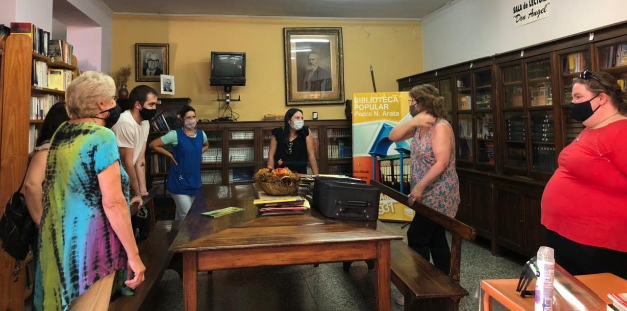 Diputada García visitó instituciones y emprendimientos del norte