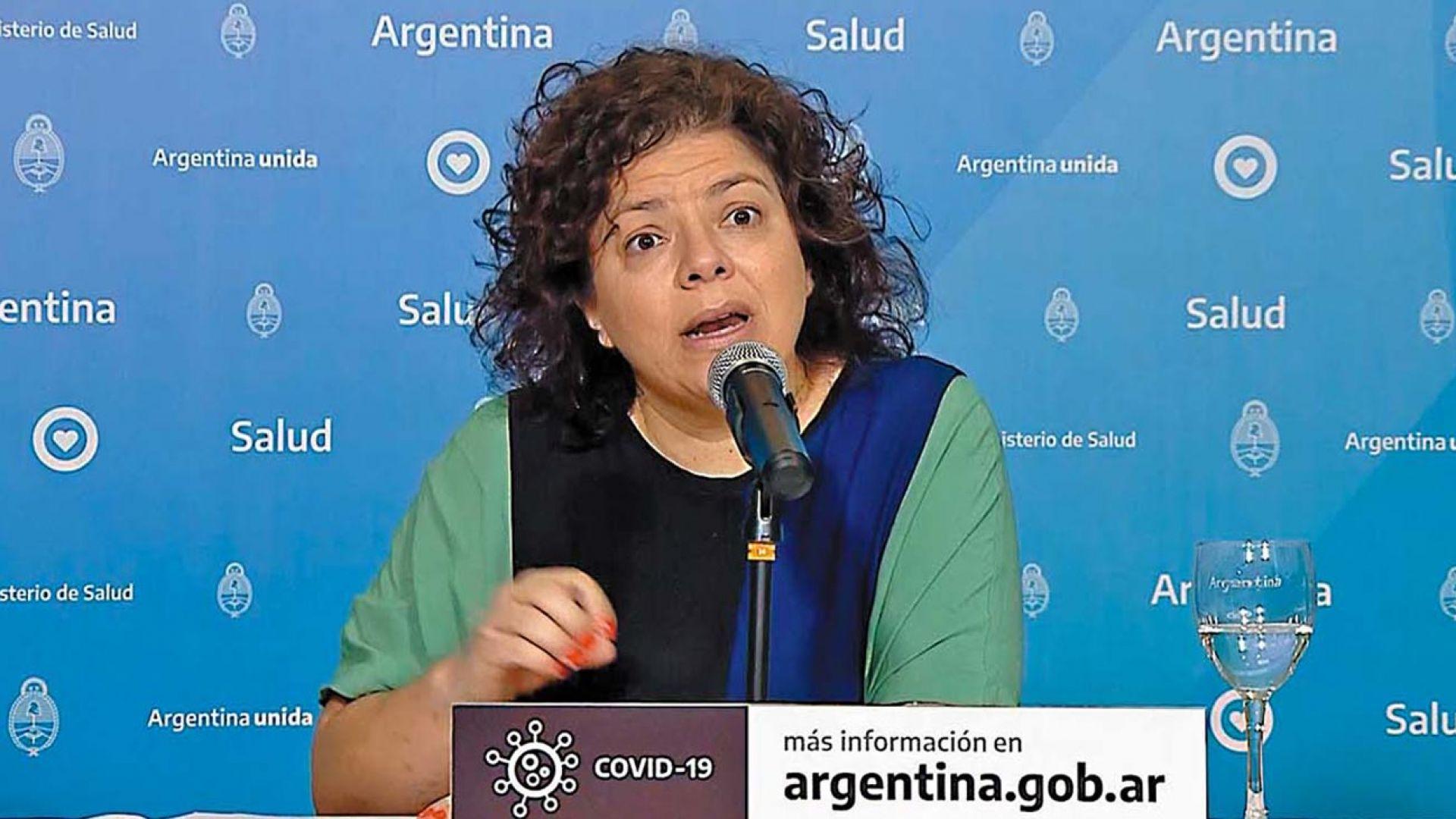 Carla Vizzotti asume como ministra de Salud