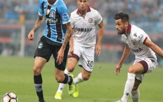 Gremio venció a Lanús en la primera final de la Libertadores