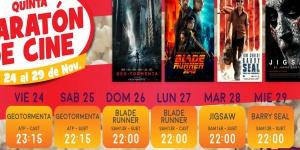 "Llega la ""V Maratón de Cine"" a Amadeus"
