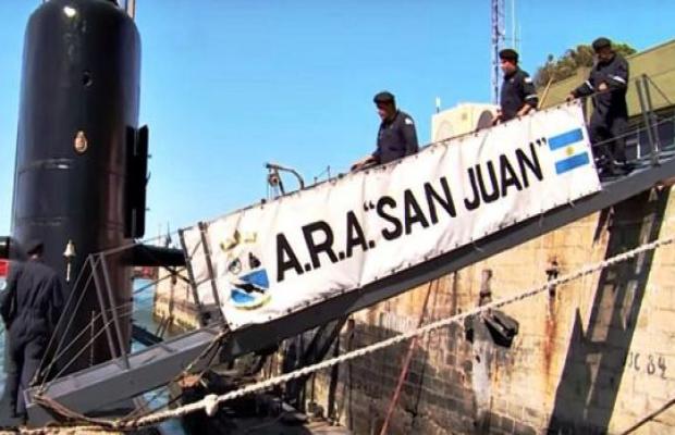 """Submarino ARA San Juan: investigan """"ruido"""" en zona de operaciones"""