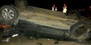 Vuelco en la ruta 151: murió una mujer