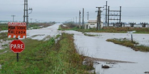Las fotos de la inundación en el norte pampeano