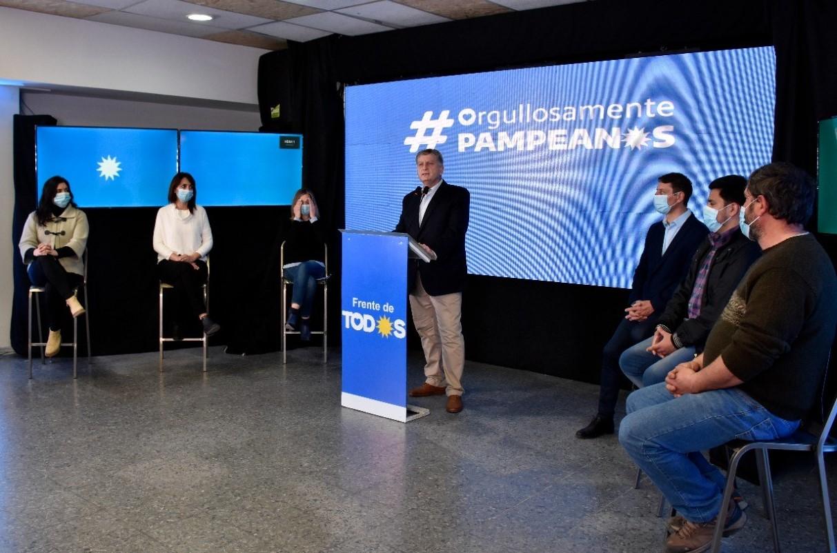 """El Frente de Todos lanzó la campaña: """"Está en juego el rumbo del país"""""""